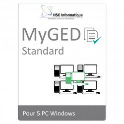 MyGed Standard pack de 5...